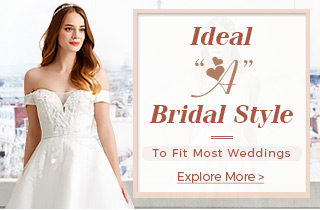 Ideal A Bridal Style To Fit Most Weddings