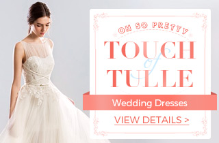 Oh So Pretty, Touch Of Tulle Wedding Dresses