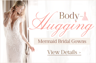 Body Hugging Mermaid Bridal Gowns Collection